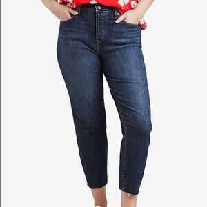 Levi's Plus Size High-Waist Skinny Wedgie Jeans
